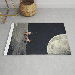 I Gave You the Moon for a Smile Rug