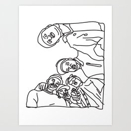 ASAP Mob Art Print
