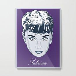 Sabrina - Audrey Hepburn  Metal Print