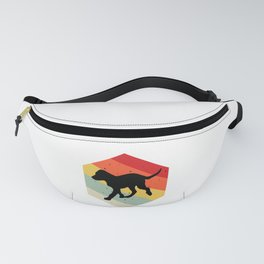 Canis Lupus Puppy design For Dog Lovers Cute Dog Fanny Pack