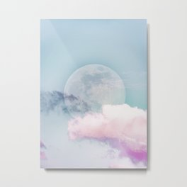 Candy Moon Metal Print