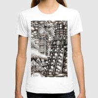 dalek T-shirts featuring DALEK INVASION by Bungle