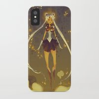 sailormoon iPhone & iPod Cases featuring SailorMoon by Samanthadoodles