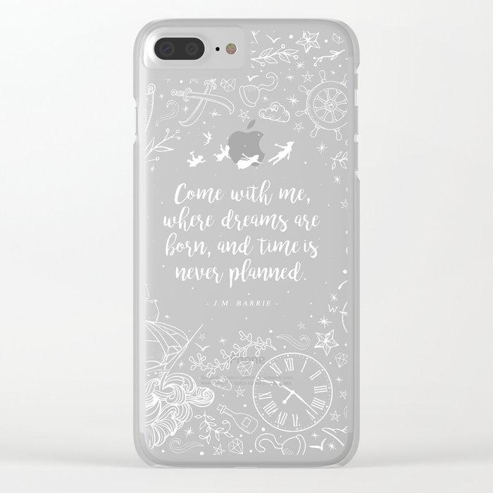 Where dreams are born Clear iPhone Case