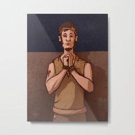 Steadfast and Faithful | Shiblon Metal Print
