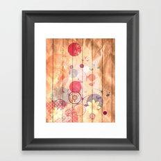 Unhappy Spring Framed Art Print