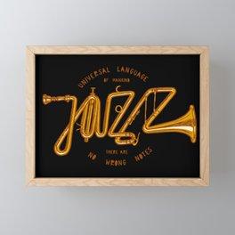 Jazz Trumpet Framed Mini Art Print