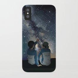 Stargazing iPhone Case