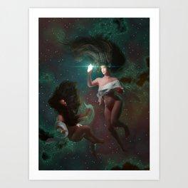 Star is born Art Print