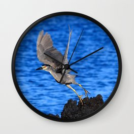 lava takeoff Wall Clock