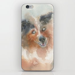 The Heart sees what the eyes can't iPhone Skin