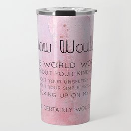 How would Travel Mug