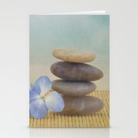 zen Stationery Cards featuring Zen by Kim Hojnacki Photography