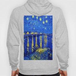 Starry Night Over Rhone Hoody