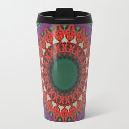 Basal Color Mandala 8 Travel Mug