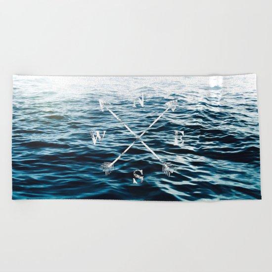 Winds of the Sea Beach Towel