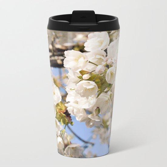 Hello Spring #3 Metal Travel Mug