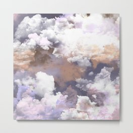Clouds Habitus Metal Print