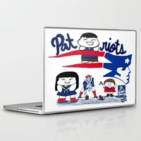 patriots Laptop & iPad Skins featuring Team Patriots!  by Happy Positivity