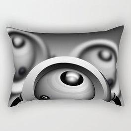 Looking at my house Rectangular Pillow