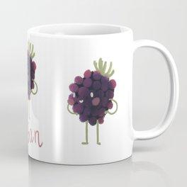 Vegan Blackberry Coffee Mug