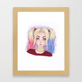 Harley Quinn ~ Framed Art Print