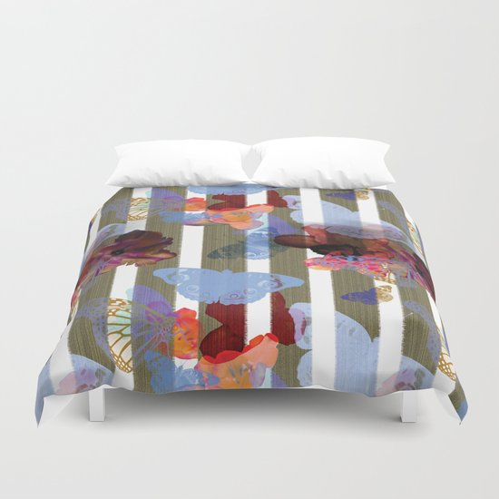 Fly Flower Duvet Cover