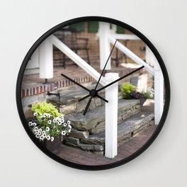 A Longwood Moment I Wall Clock