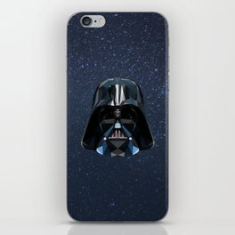 Low Poly Darth Vader iPhone Skin