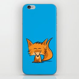 Cute fox iPhone Skin