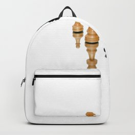 The Queen's Gambit Chess sequence inspired design  Backpack