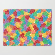 Gummy Bears Canvas Print