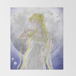 Princess Serenity Throw Blanket