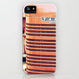 Vintage Tractor iPhone Case