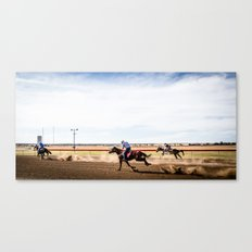 Country Racing Canvas Print