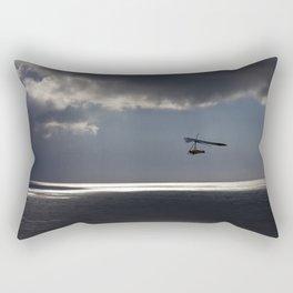 flying over the ocean 4 Rectangular Pillow