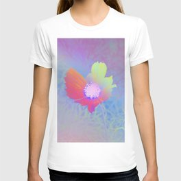 Holographic Flower Photography T-shirt