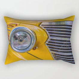 front of a 1940 chevrolet car Rectangular Pillow