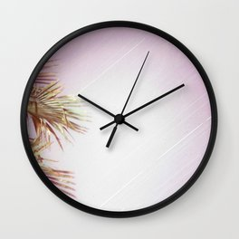 Purple night Wall Clock