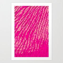 Pink Elephants on Parade Art Print
