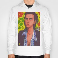 nick cave Hoodies featuring Spotty Nick by Anna Gogoleva