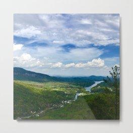 River Through the Valley Metal Print