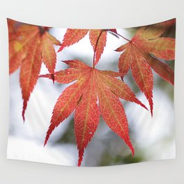 Autumn strikes a pose Wall Tapestry
