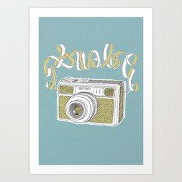 ANALOG Art Print