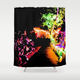 Rock Show Shower Curtain
