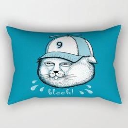 I have 9 lives, so Bleeh! Rectangular Pillow