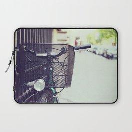 Bike in Paris Laptop Sleeve