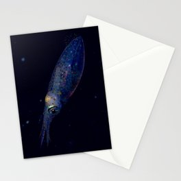 Squid princess of the deep Stationery Cards