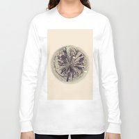 manhattan Long Sleeve T-shirts featuring Manhattan by katievanmeter