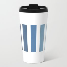 Sky and Water Blue Palette Travel Mug
